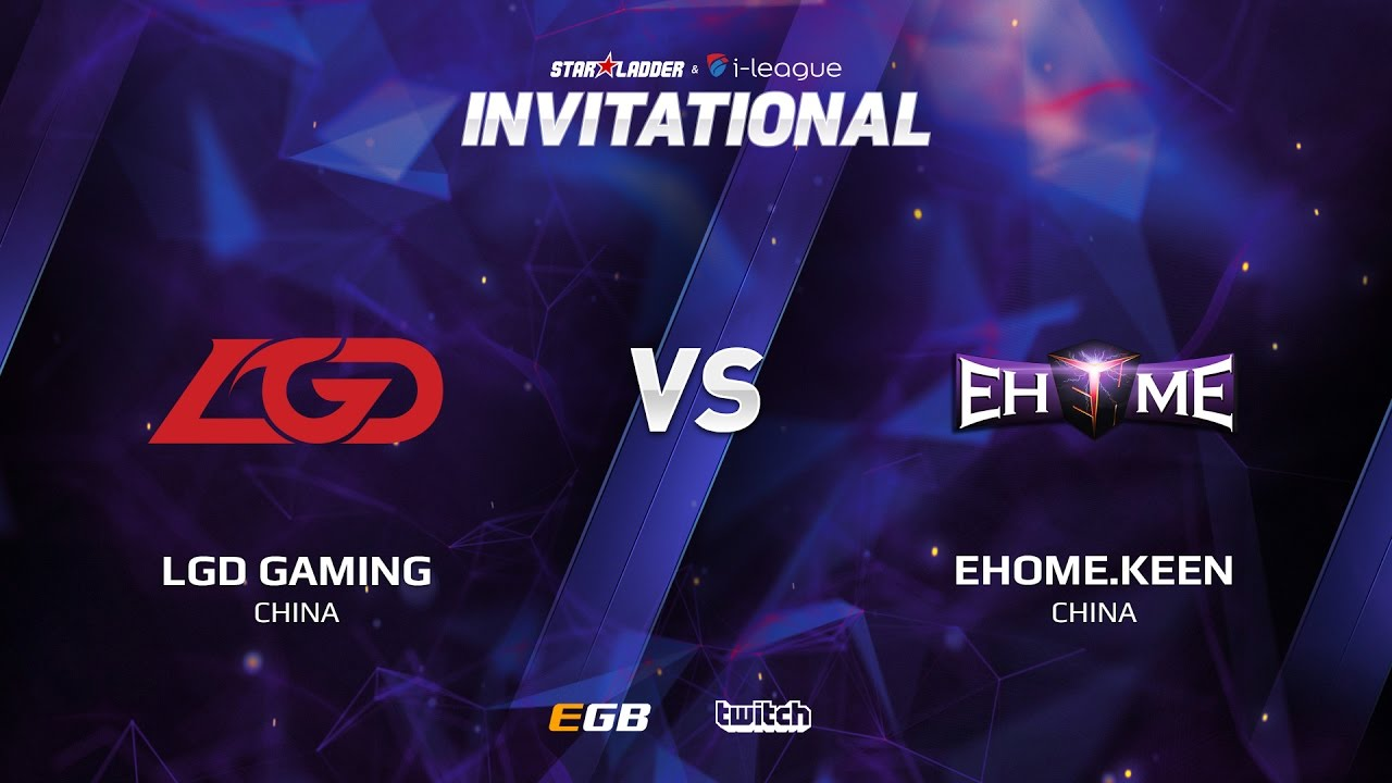 LGD Gaming vs EHOME.Keen, Game 2, SL i-League Invitational S2, CN Qualifier