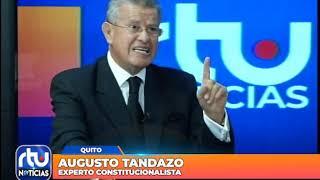 La entrevista: Augusto Tandazo