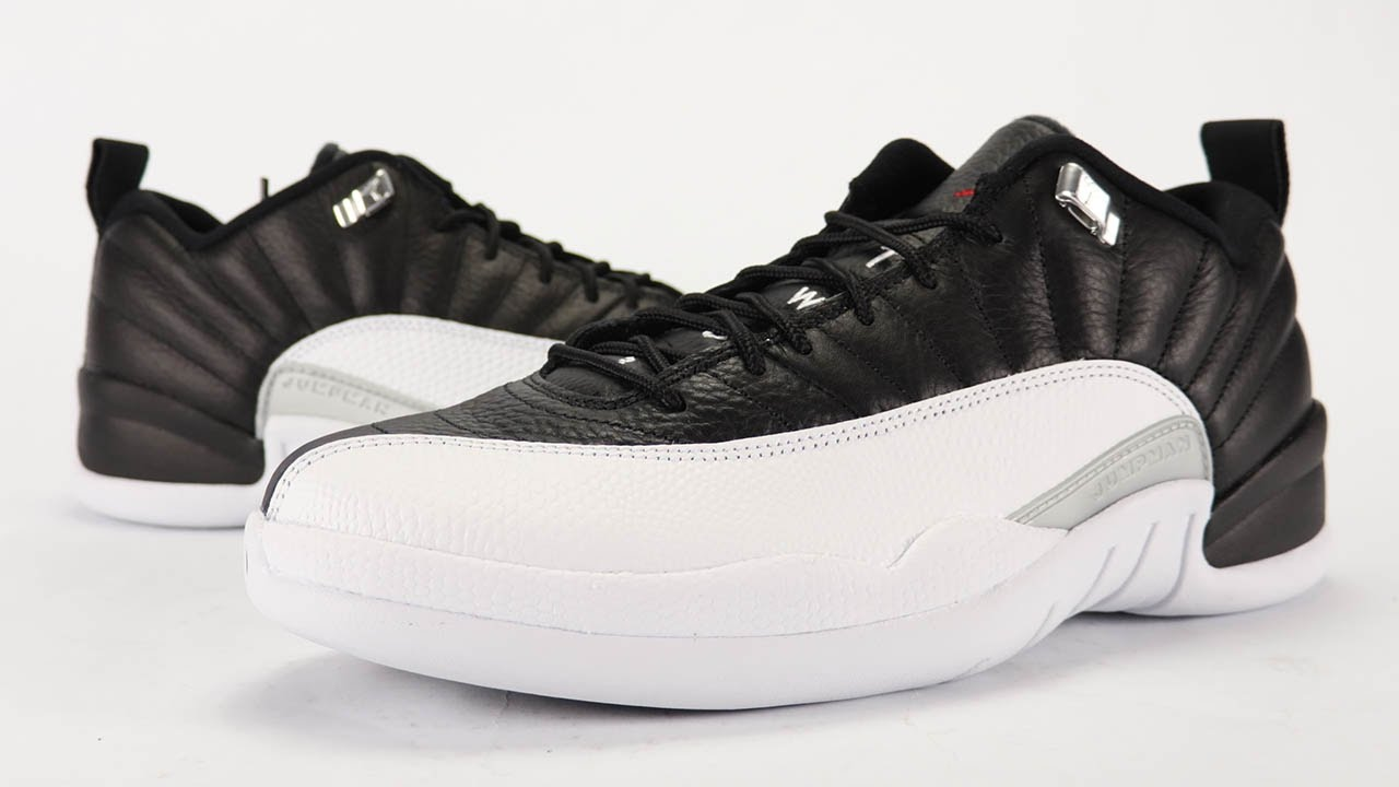 80826318f27233 Air Jordan 12 Low Playoff Review + On Feet - YouTube