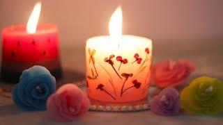 दिवाली में घर की सजावट के लिए कैंडल   3 Scented DIY Candles without molds   कैंडल मेकिंग घर पर
