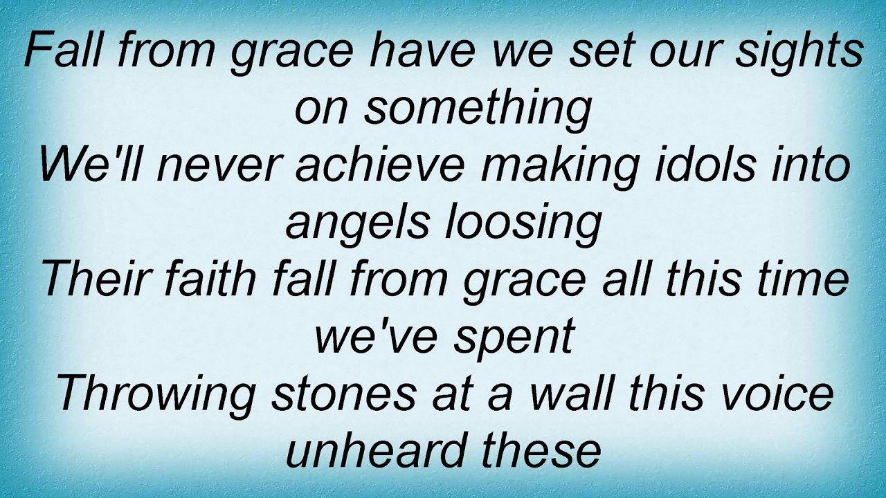 Throwing Stones - Turmoil - LETRAS