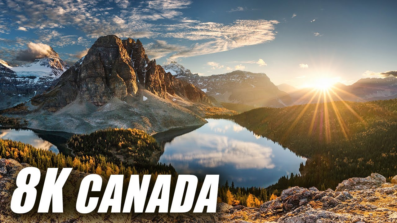 Canada in 8K HDR 60FPS DEMO