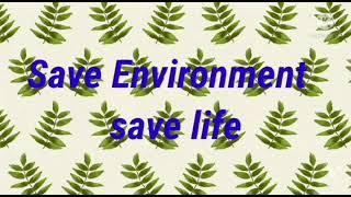 Class VI B  Environment Day 2021(1/3)