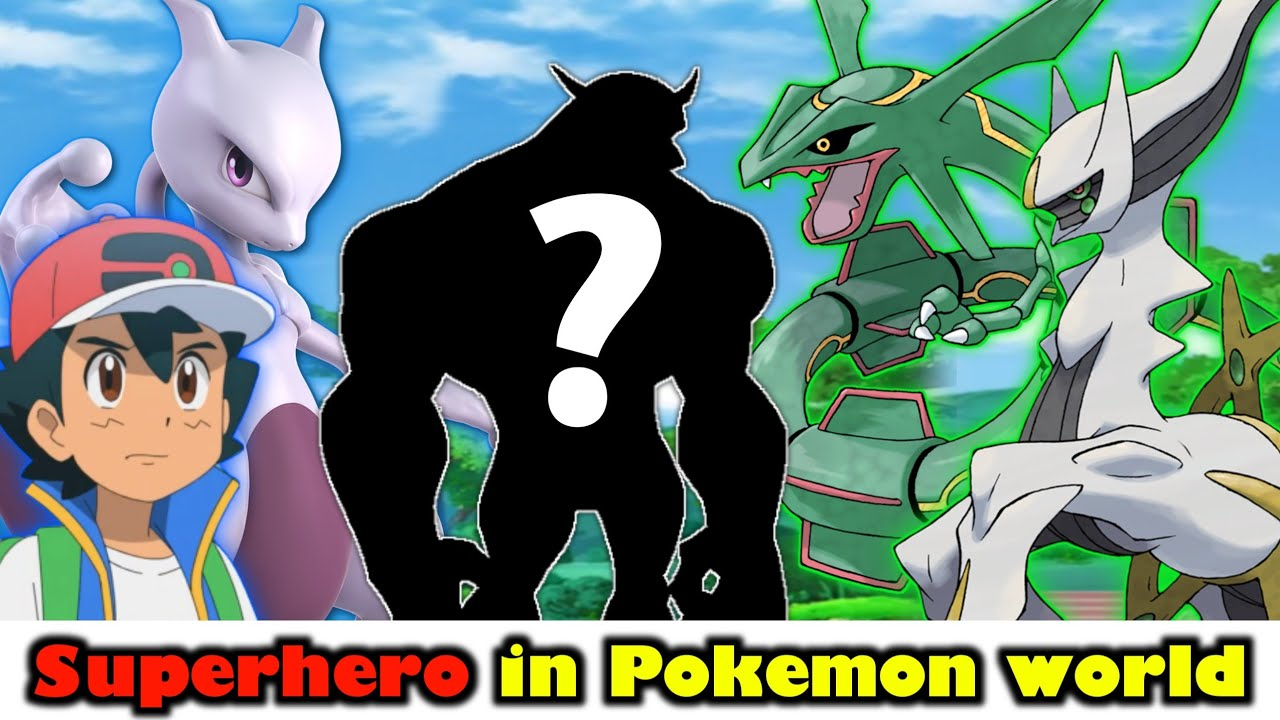 Superhero in Pokemon world   Super strongest Pokemon   Top 10 super Pokemon   Pokemon in Hindi