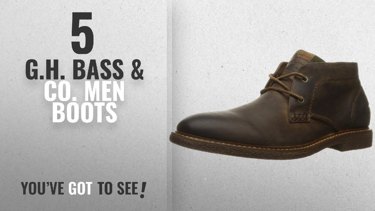 ac5906ae175 Top 10 G.H. Bass & Co. Men Boots [ Winter 2018 ]: G.H. Bass & Co. Men's  Bennett Chukka Boot, Brown,