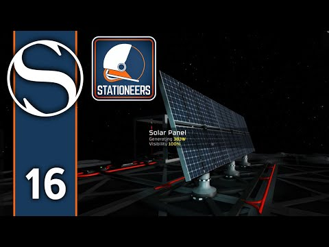 #16 Stationeers - Stationeers Gameplay [Automatic Solar Panels]