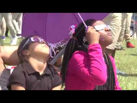 Solar eclipse a special experience at Carr Middle