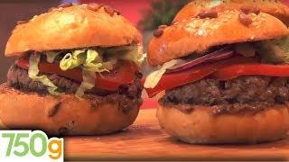 Recette de Hamburger maison - 750 Grammes