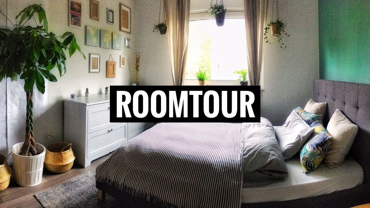 schlafzimmer room tour mit tumblr pinterest diy deko ideen aktuell k uflich youtube. Black Bedroom Furniture Sets. Home Design Ideas