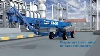 Genie SX-180 Telescopic Boom Lift at ABLE Equipment Rental