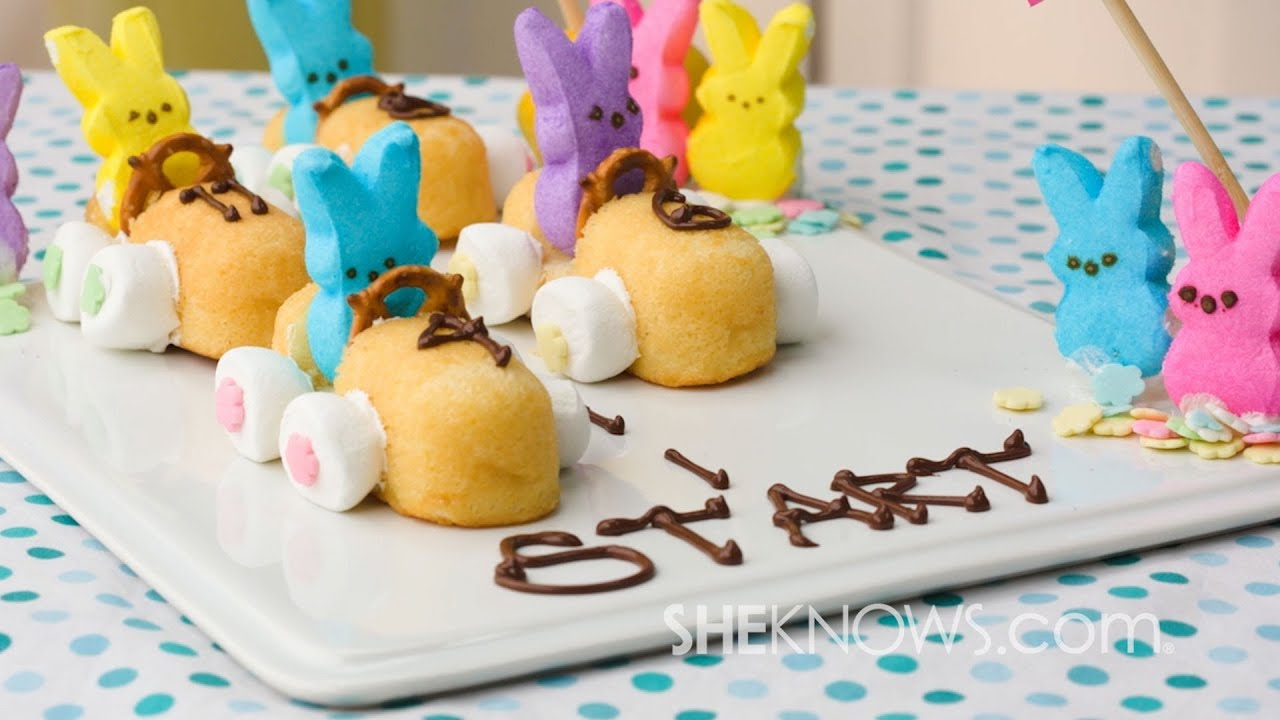 Bunny race car youtube for Quick and easy easter treats recipes