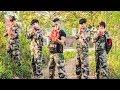 Nerf War: S.W.A.T & Special Soldier Nerf Guns Mafia Group Rescue Sapper Nerf movie