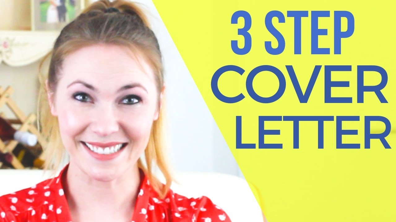 3 Step Easy Cover Letter