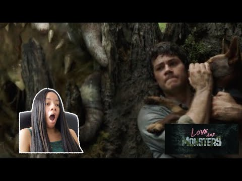 UMMM ISSA NO! LOVE AND MONSTERS OFFICIAL TRAILER REACTION