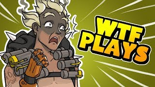 40 WTF PLAYS OF THE GAME! - Overwatch Montage