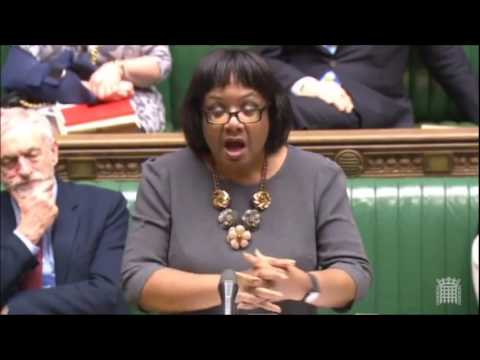 Diane Abbott MP on the Syria crisis & the UK response from Justine Greening MP