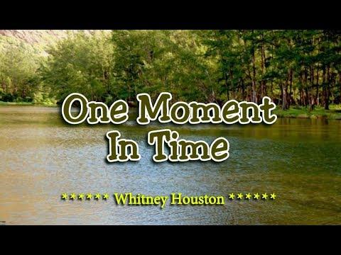 One Moment In Time - Whitney Houston (KARAOKE)