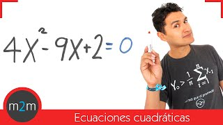 Intro a las ecuaciones cuadráticas │ segundo grado