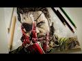Desenho Gamer - Desenhando o Snake do Metal Gear Solid V: The Phantom Pain
