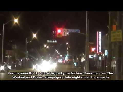 Yonge Street Toronto at Night