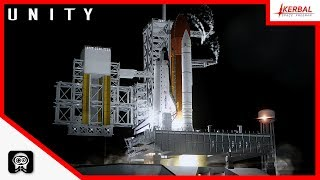 E02 - Kerbal Space Program | ISS Build | Unity
