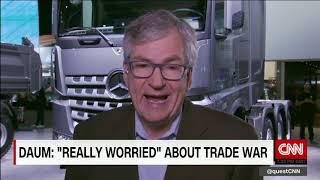 Daimler 'really worried' about trade war