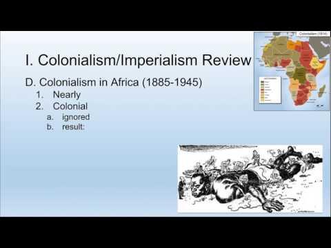 Decolonization in Africa & Asia