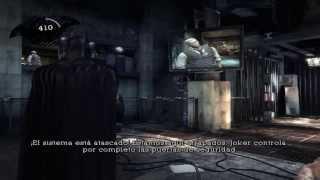 Probando Batman, Arkham Asylum