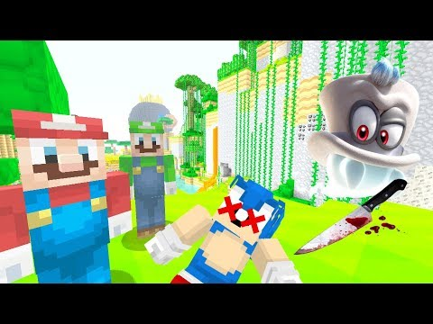 DID CAPPY KILL SONIC? [SAD] - Super Mario Series - (Minecraft Switch) [274]