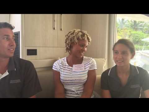 FULL CREW INTERVIEW - On board charter yacht SOMETHING WONDERFUL