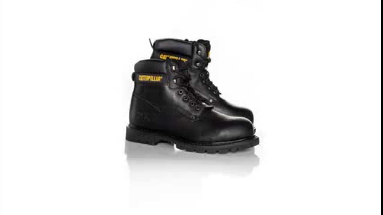 25d33c8888a3fa Chaussures CATERPILLAR SHEFFIELD SB NOIR. Cuir City