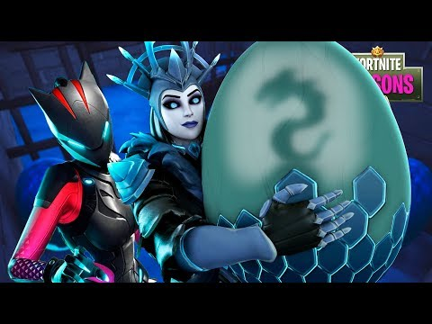 Lynx STEALS The Ice Queen's BABY!! Fortnite Season 7 Film thumbnail