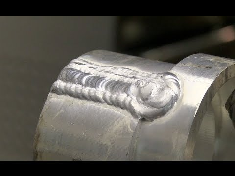 How to Tig Weld Aluminum gaps using Stainless Steel Backing