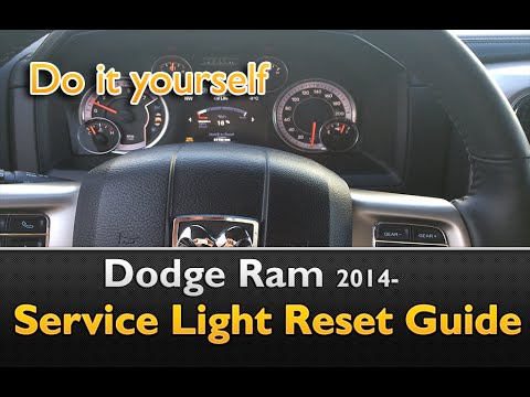 Dodge Ram 2014- Service Indicator Reset Guide - YouTube