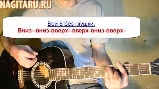 """Как играть Нервы - """"Батареи"""". Аккорды в Hm и разбор - Песня под гитару - Nagitaru.ru"""