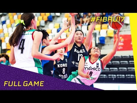 Mexico v Korea - Class 13-16 - Full Game - FIBA U17 Women's World Championship 2016