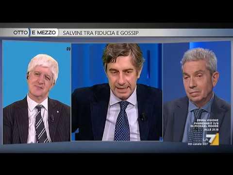 Otto e Mezzo la 7 - Salvini tra fiducia e gossip