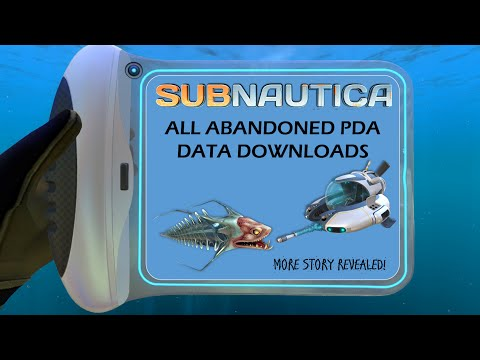 ALL ABANDONED PDAs IN GAME! | More Story Revealed! | Subnautica News