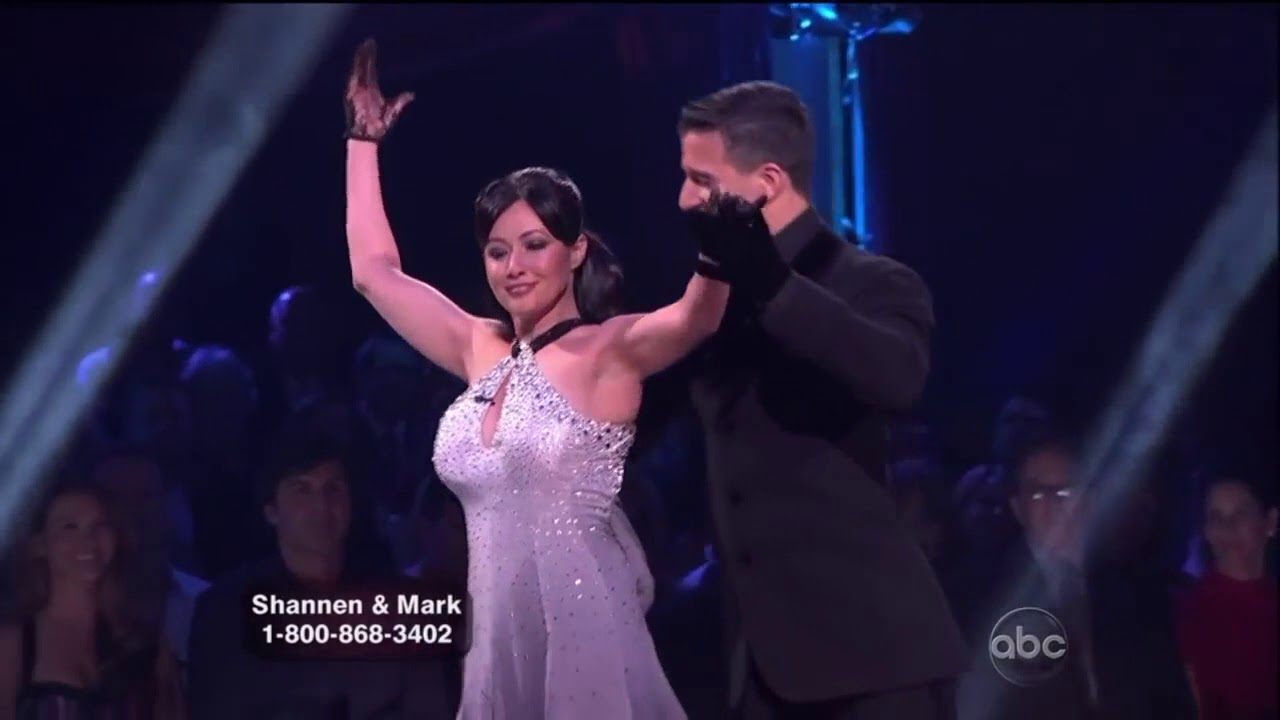 Shannen Doherty dances for the sake of his father 09.03.2010 30