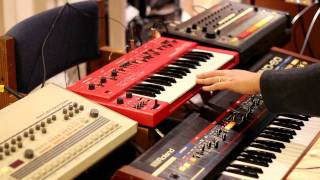 Old school House with Roland TR-808, Juno-60, SH-101, TR-909