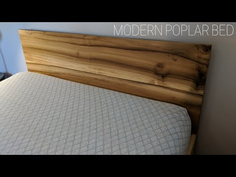 DIY Modern Wood Queen Bed | $300 | NATHAN BUILDS