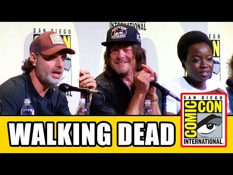 THE WALKING DEAD Comic Con Panel (Part 2) - Season 7, Norman Reedus, Andrew Lincoln