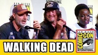 THE WALKING DEAD Comic Con 2016 Panel Highlights Part 2 - Norman Reedus, Andrew Lincoln