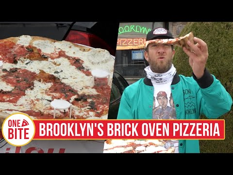 Barstool Pizza Review - Brooklyn's Brick Oven Pizzeria (Hackensack, NJ) Powered By Monster