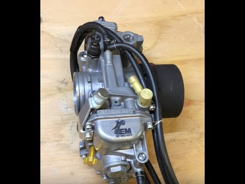 Xr650l carb install help for fcr performance upgrade