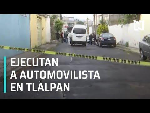 Asesinan a balazos a automovilista en la alcaldía Tlalpan - Las Noticias