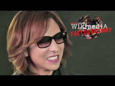 X Japan's Yoshiki - Wikipedia: Fact or Fiction?