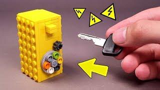 как сделать Самый Маленький Сейф с Комбинацией из ЛЕГО (Транспортная компания ТК ПЭК)