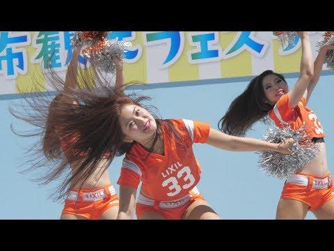 Cheerleading チア 🏈 Xリーグチアリーダーズ リクシルディアーズ 2018 🏈