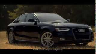 Audi A4 2014 / advertising commercial test drive intro Werbung Reklame / new car / neues Auto